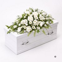 Childrens Casket Spray   White