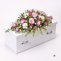 Childrens Casket Spray   Pink