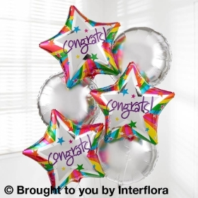 Congrats Balloon Bouquet Pack