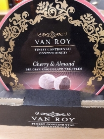 120g Cherry & almond Chocolate Truffles