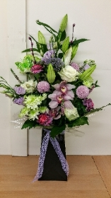 A Tall Boxed Vase Bouquet